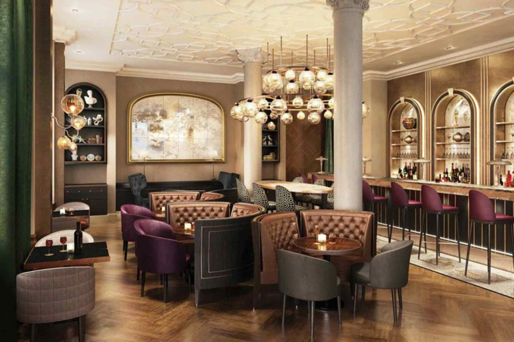 Bar at Belmond Cadogan Hotel London