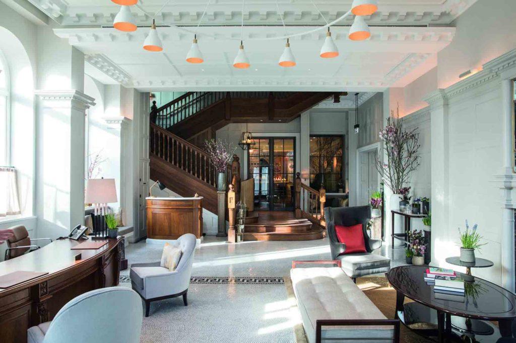 Lobby at Belmond Cadogan Hotel London