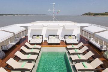 The Strand Cruise, Mandalay to Bagan, Myanmar