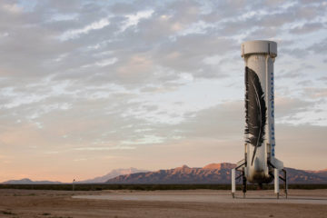New Shepard rocket, Blue Origin