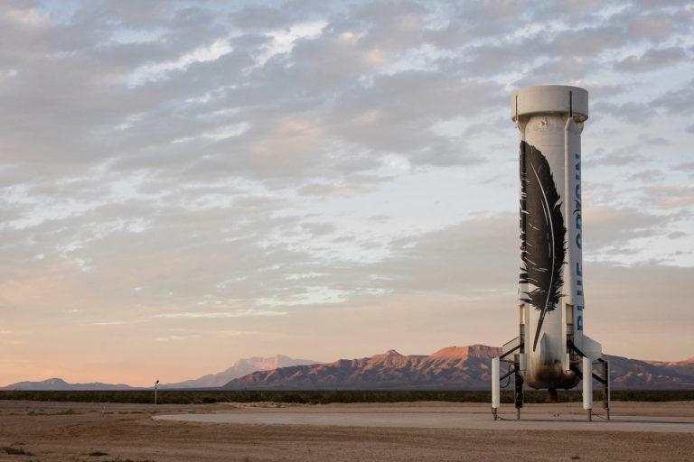 New Shepard rocket, Blue Origin