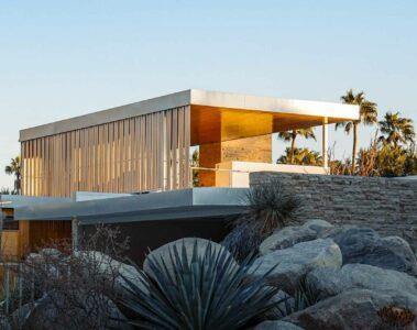 Desert modern, Palm Springs, California, USA