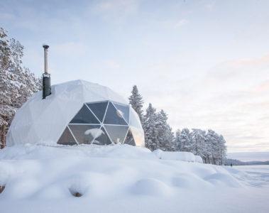 Aurora Domes, Torassieppi, Finland