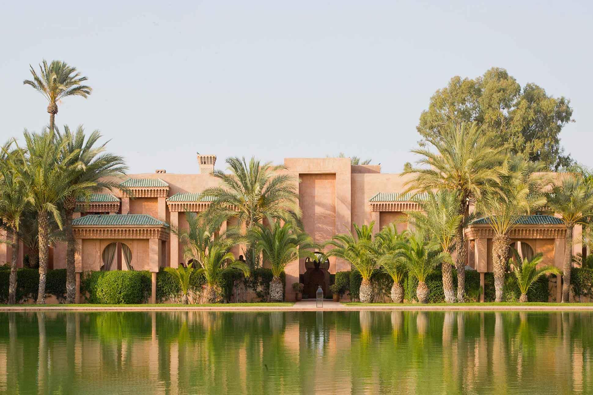 Exterior of Amanjena by Aman Resorts, Marrakech