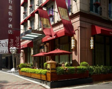 Hotel Eclat Taipei Taiwan exterior