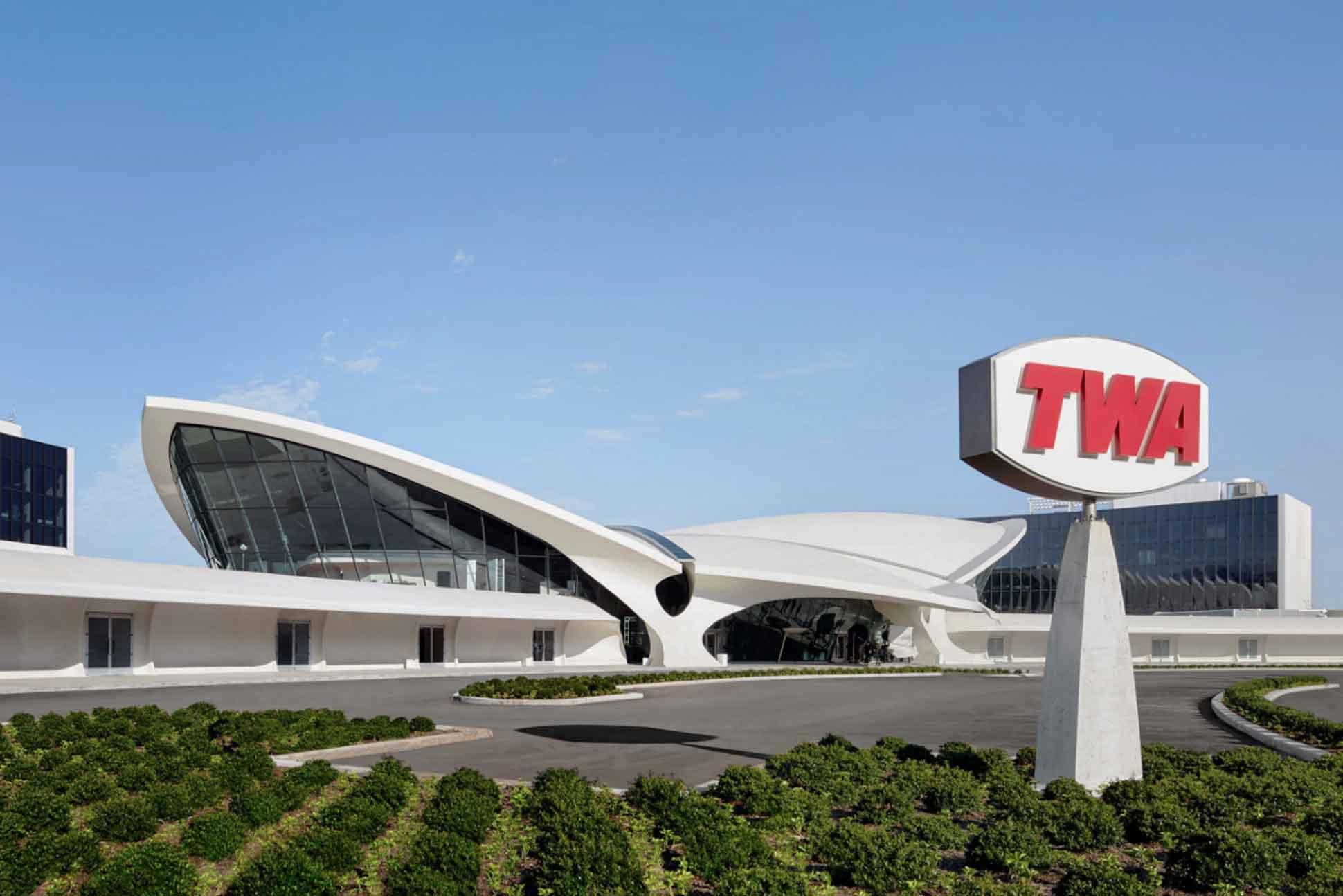 TWA Hotel, JFK Airport, New York City, USA