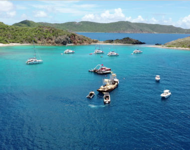 Beyond the reef, British Virgin Islands