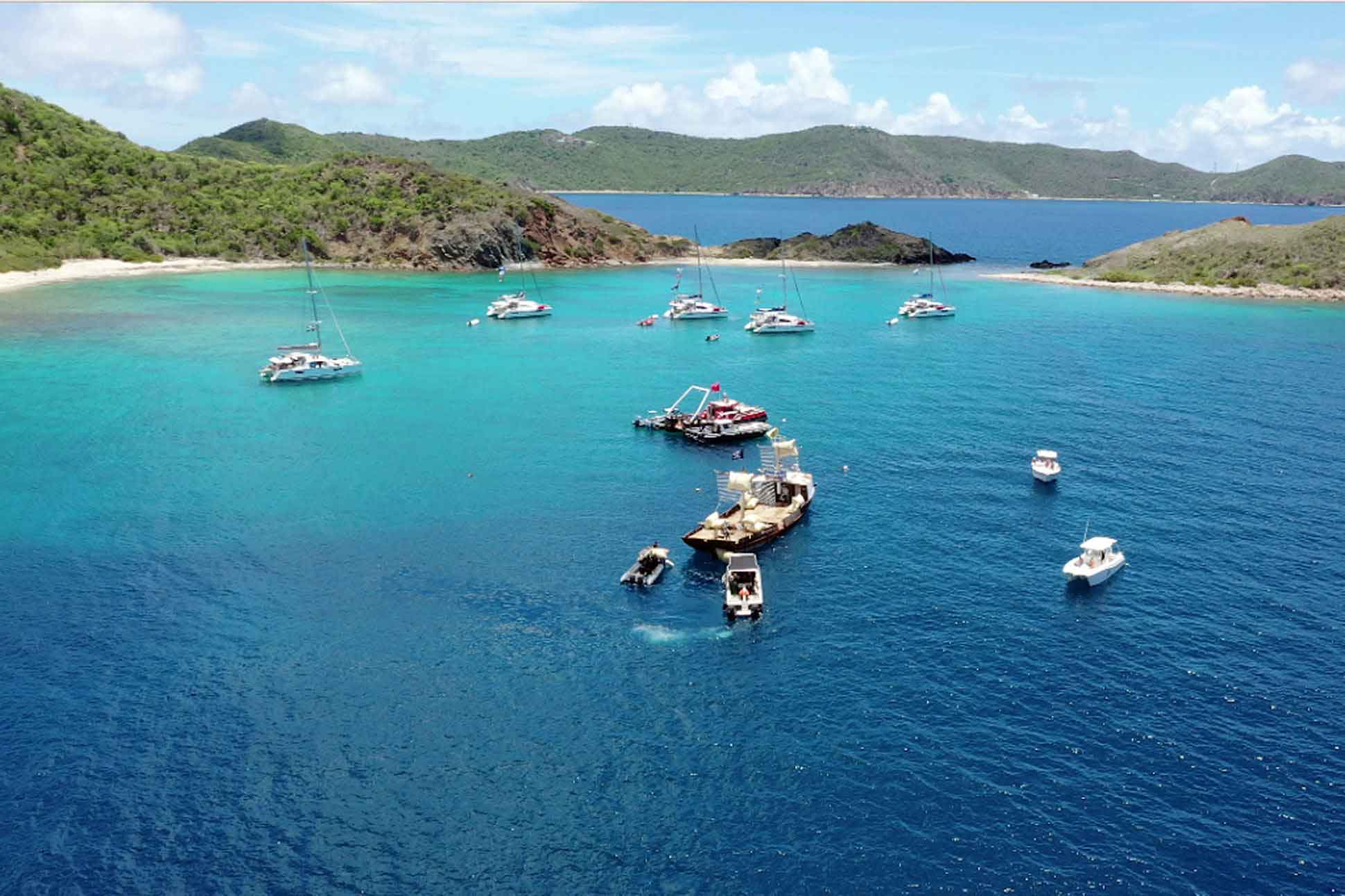 Beyond the reef, British Virgin Islands