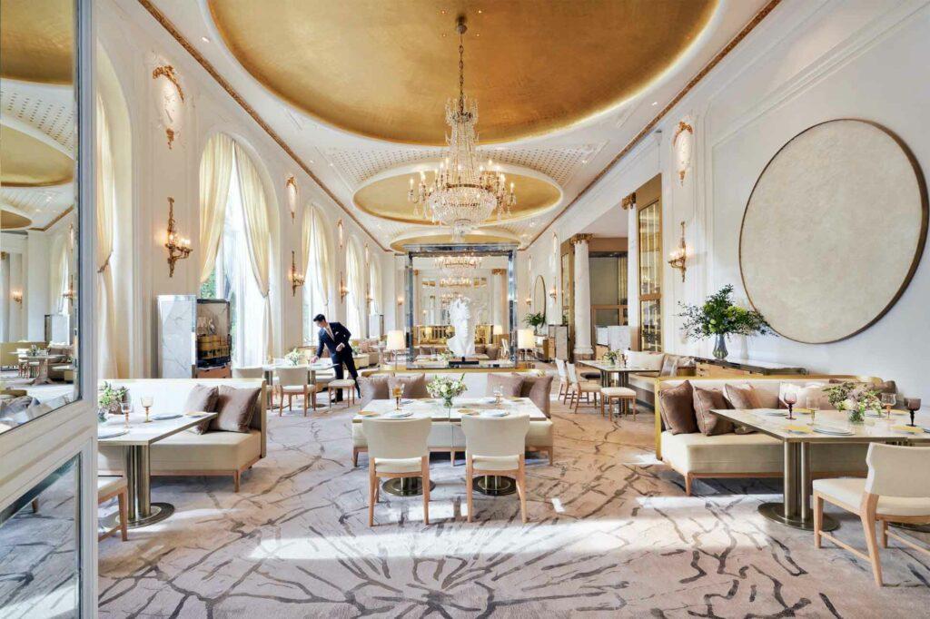 Restaurant at the Mandarin Oriental Ritz, Madrid, Spain