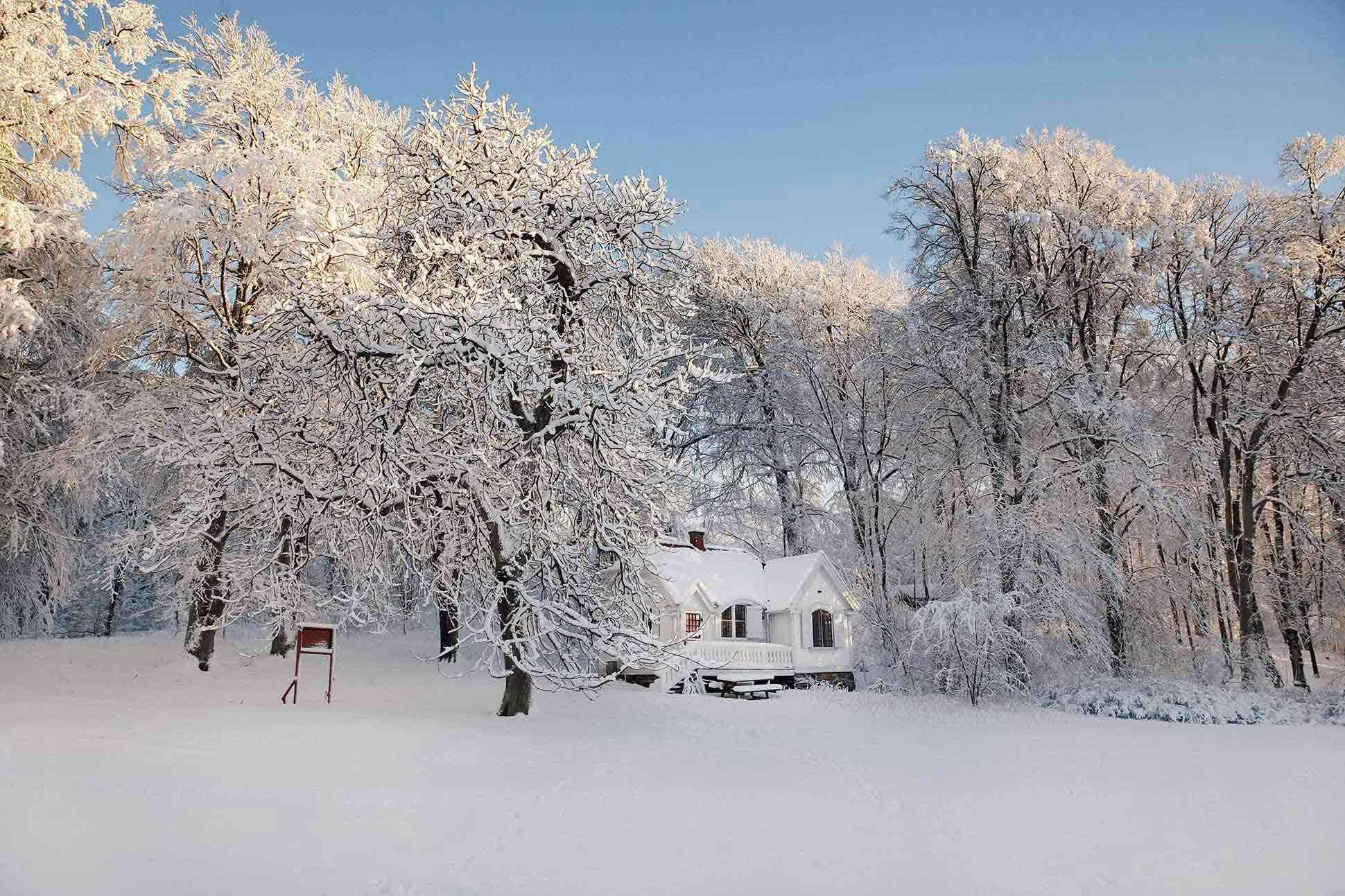 Gothenburg, Sweden in winter