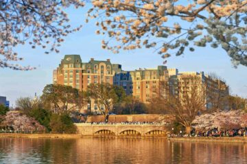Exterior view of Mandarin Oriental Washington D.C., USA
