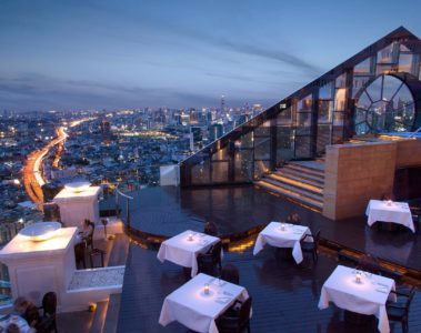Tower Club at lebua at State Tower, Bangkok, Thailand