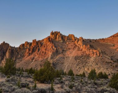 Smith Rock State Park, Terrebonne, USA
