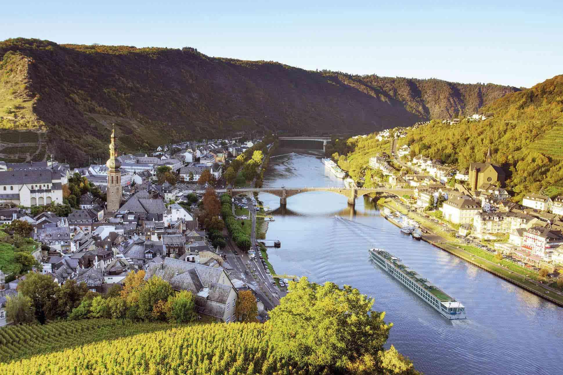 Emerald Waterways cruise, Cochem, Germany