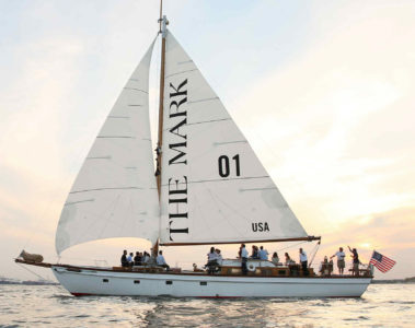 The Mark sailing yacht, NYC, USA