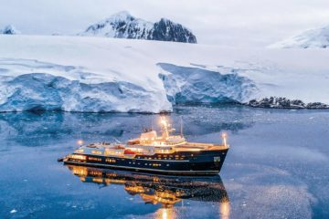 LEGEND yacht, Ahoy Club, Antarctica