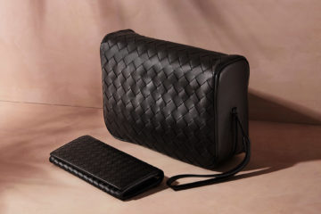 Bottega Veneta Intrecciato Leather Washbag and Intrecciato Leather Travel Wallet