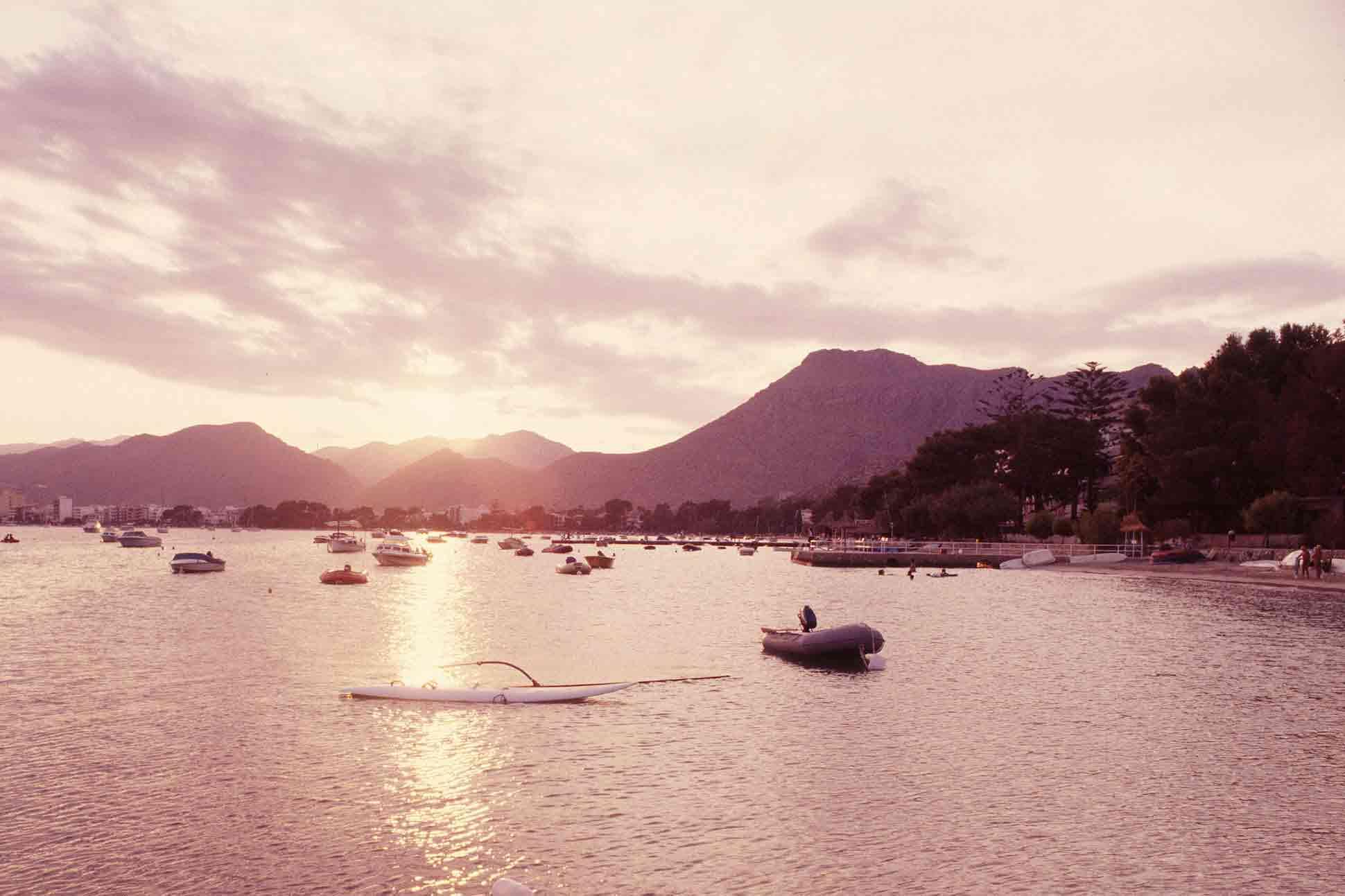 Pollensa Bay, Mallorca. Photography by Manuela Munoz, courtesy of Illes Balears