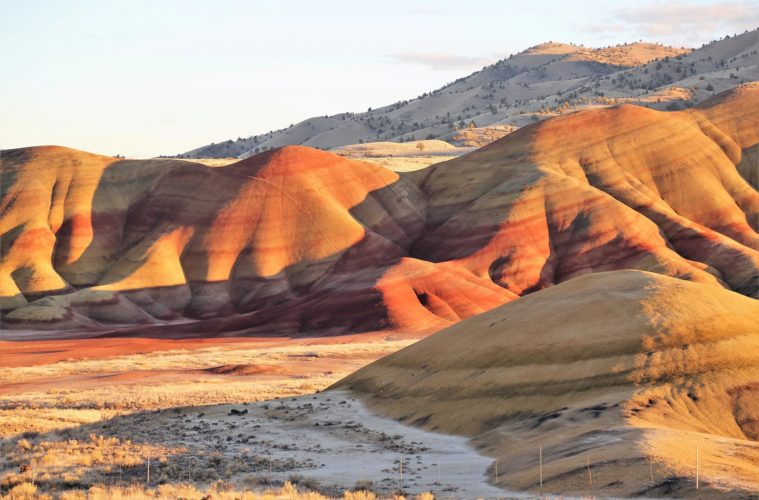 Oregon painted hills - inducing moments of zen courtesy of Travel Oregon