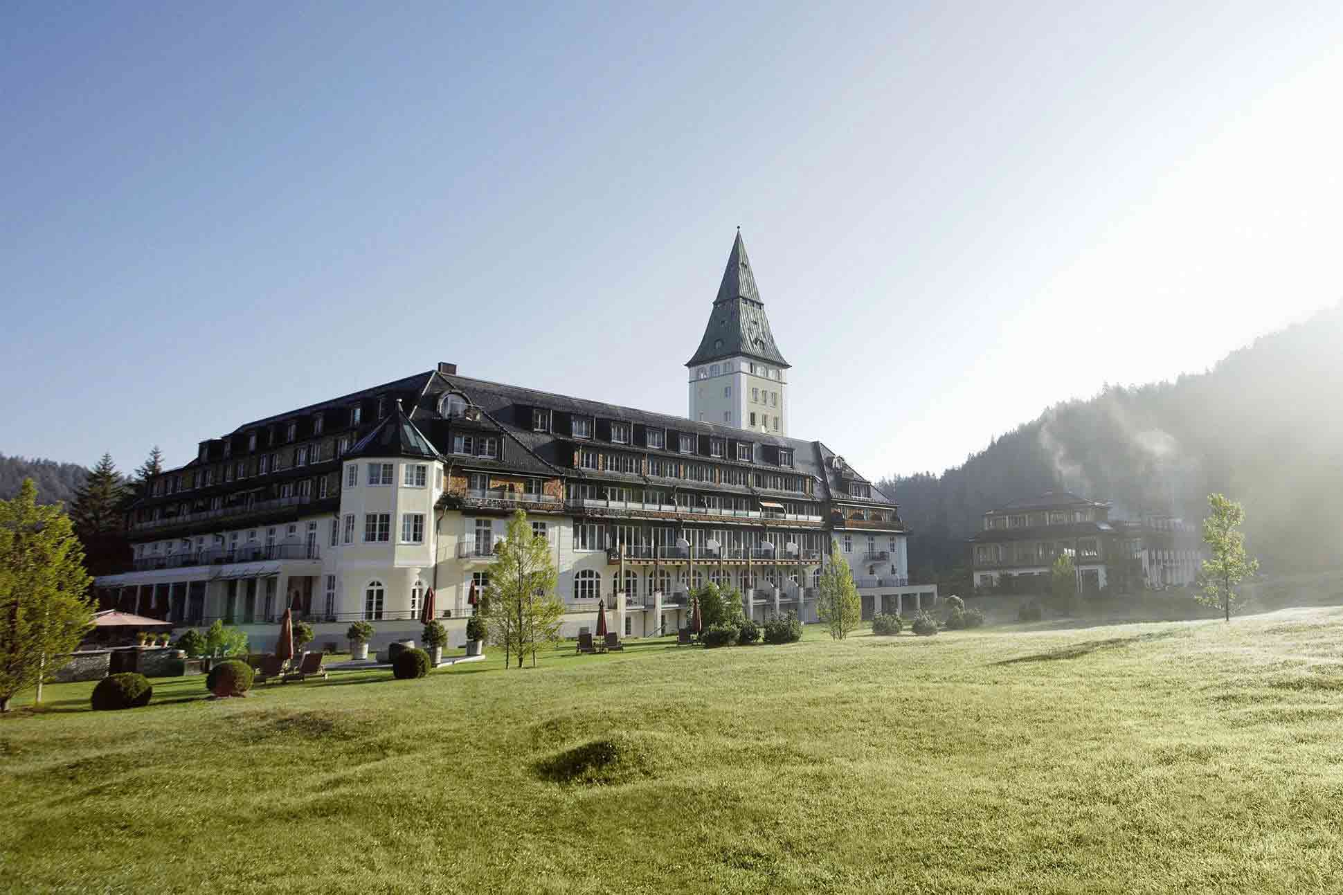 Schloss Elmau, Bavarian Alps, Germany