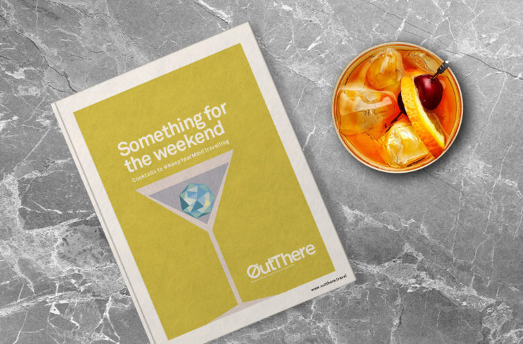 Something for the weekend cocktail book from OutThere