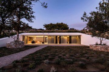 Villa Barthez on Paros, Greece. Courtesy of The Greek Villas