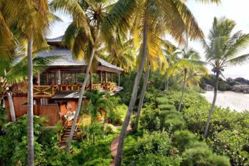 A view of Bali House at Valley Trunk Estate in the British Virgin Islands. Courtesy of Valley Trunk Estate