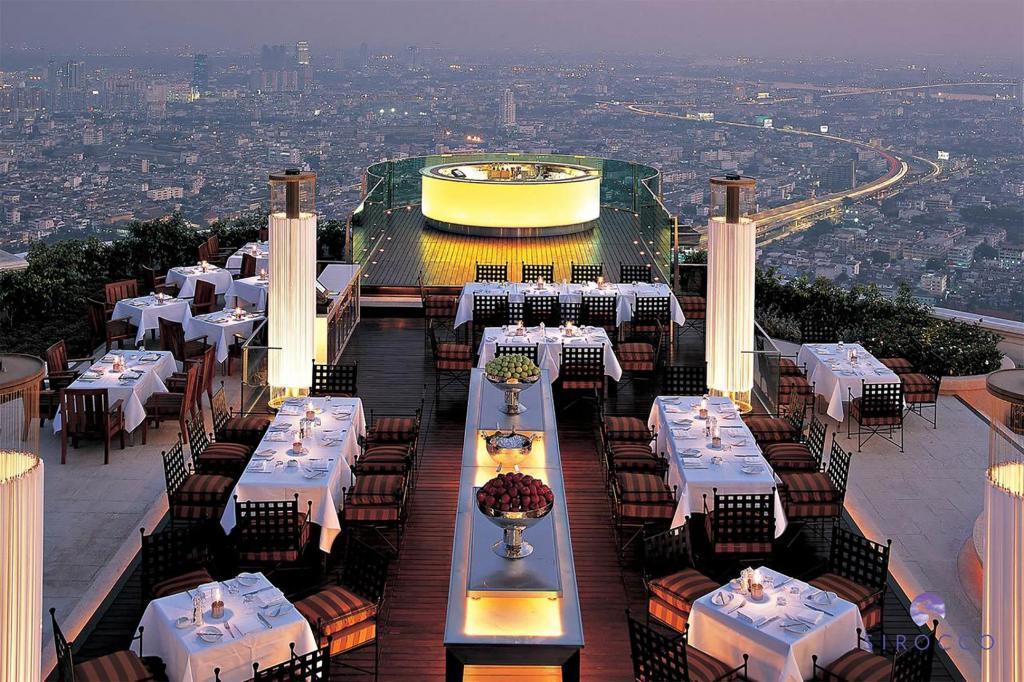 Tower Club at lebua at State Tower, Bangkok, Thailand