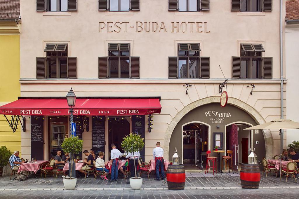 Pest-Buda Bistro & Hotel, Buda, Budapest, Hungary