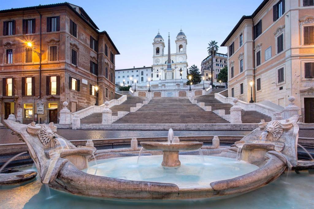 Hotel de la Ville, a Rocco Forte Hotel, Rome, Italy