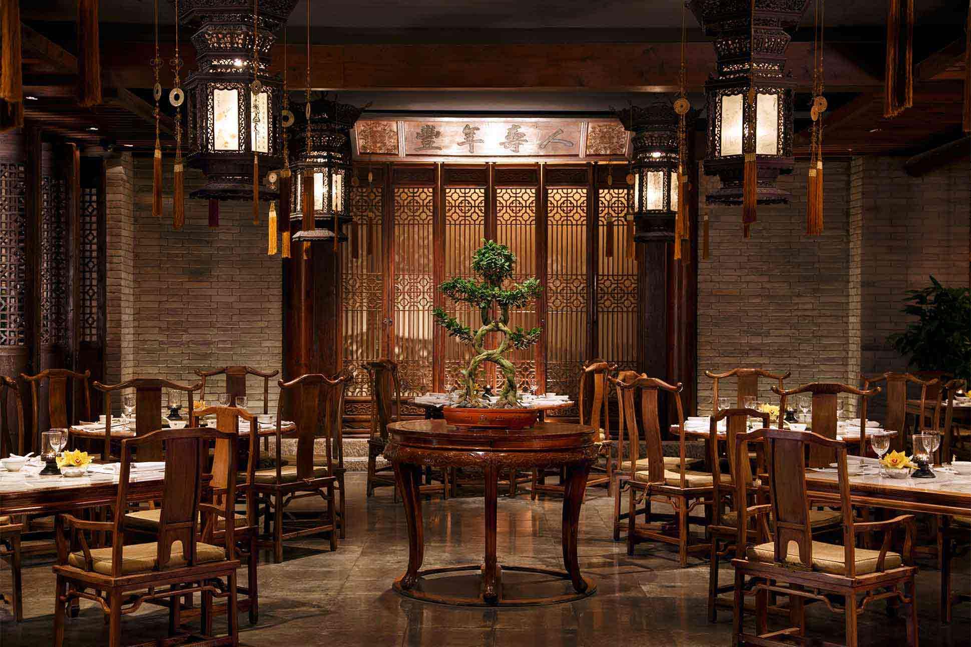 Fine dining at The Peninsula Beijing, China