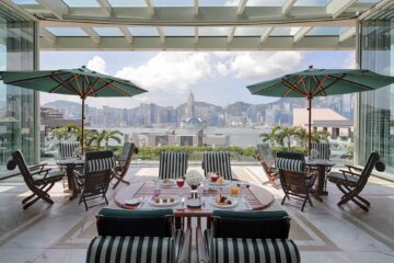 View from The Peninsula Hong Kong, China