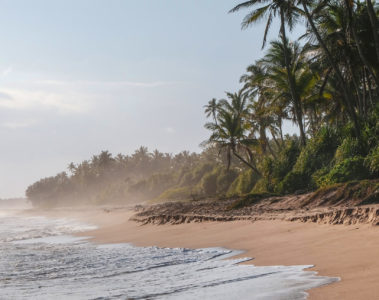 A beach on the east coast of Sri Lanka