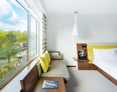 Park view suite at COMO Metropolitan London