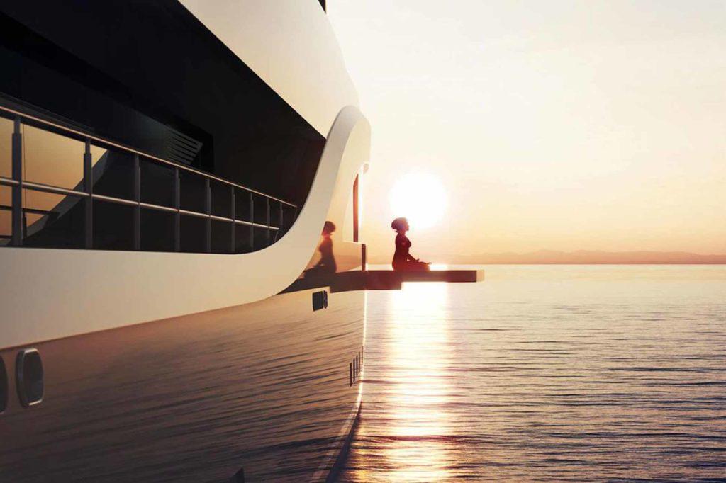 Abject luxury Feadship Escape Superyacht