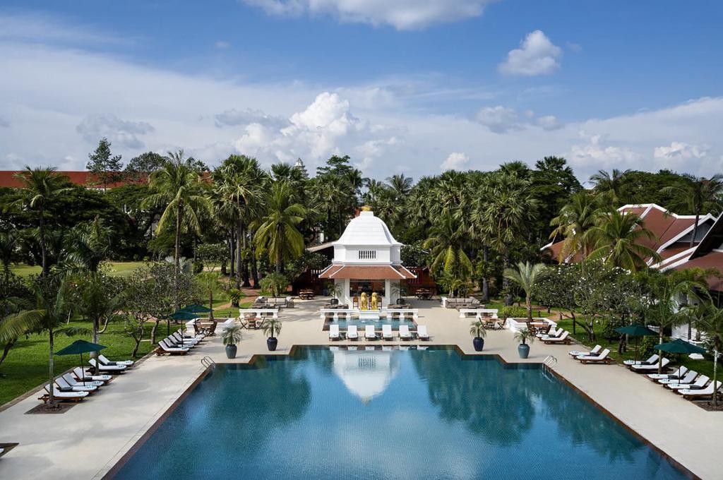 Raffles Grand Hotel d'Angkor, Siem Reap, Cambodia
