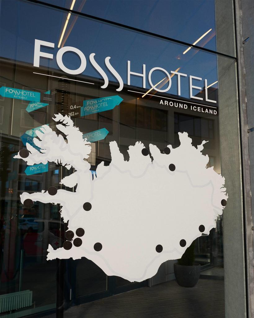 Fosshotel, Reykjavik, Iceland