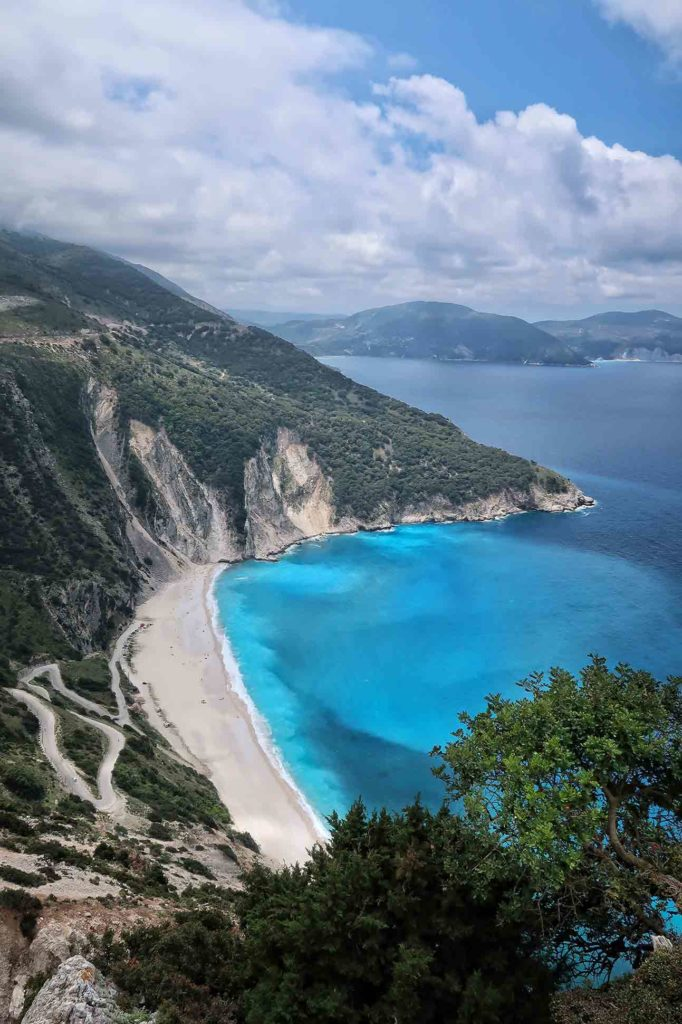 Beach in Kefalonia Greece