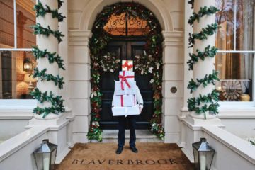The entrance at Beaverbrook Hotel & Spa, Surrey, UK