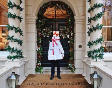 The entrance at Beaverbrook Hotel & Spa, Surrey, UK