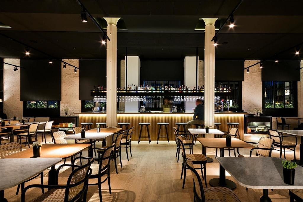 The restaurant d'Aprop at Yurbban Passage Hotel & Spa, Barcelona, Spain