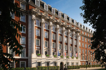 Front of The Biltmore Mayfair, London a Hilton LXR hotels property