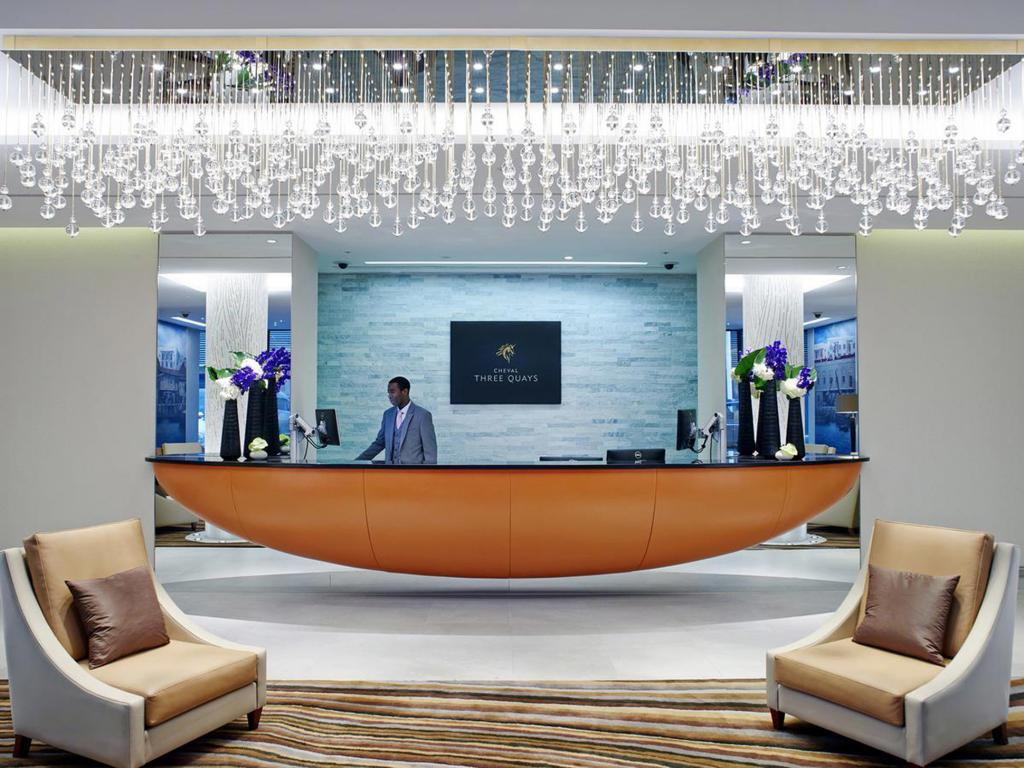 Reception Cheval Three Quays by Cheval Residences