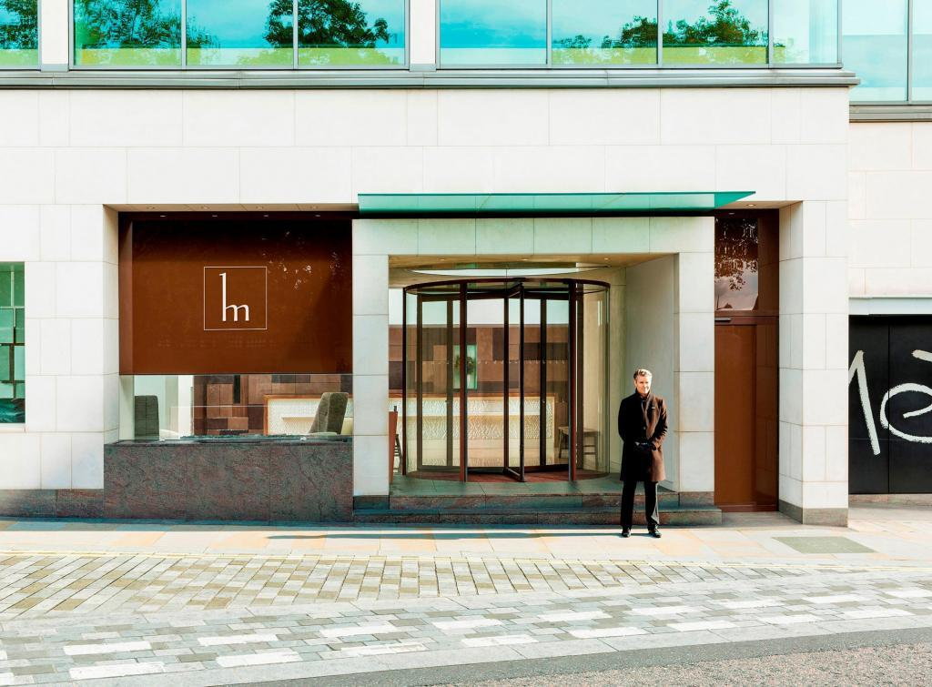 Exterior of COMO Metropolitan London