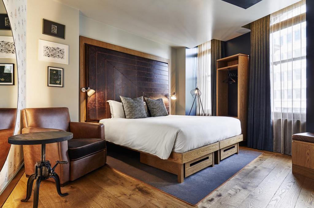 Room at Hoxton Holborn London Hotel