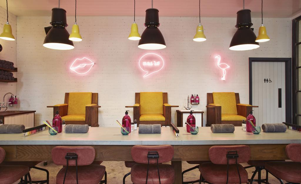 Nail bar at Hoxton Holborn London Hotel