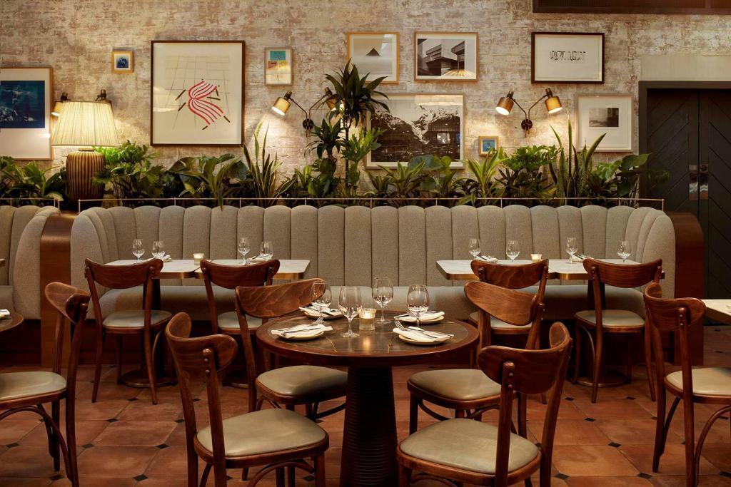 Dining area at Hoxton Holborn London Hotel
