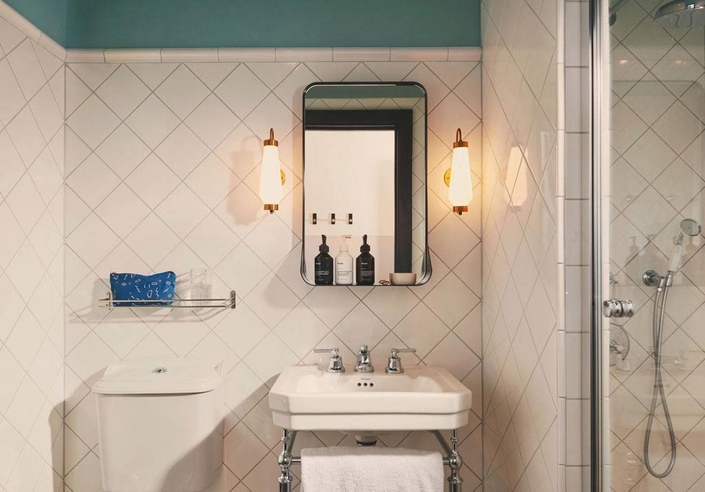 Bathroom at Hoxton Holborn London Hotel