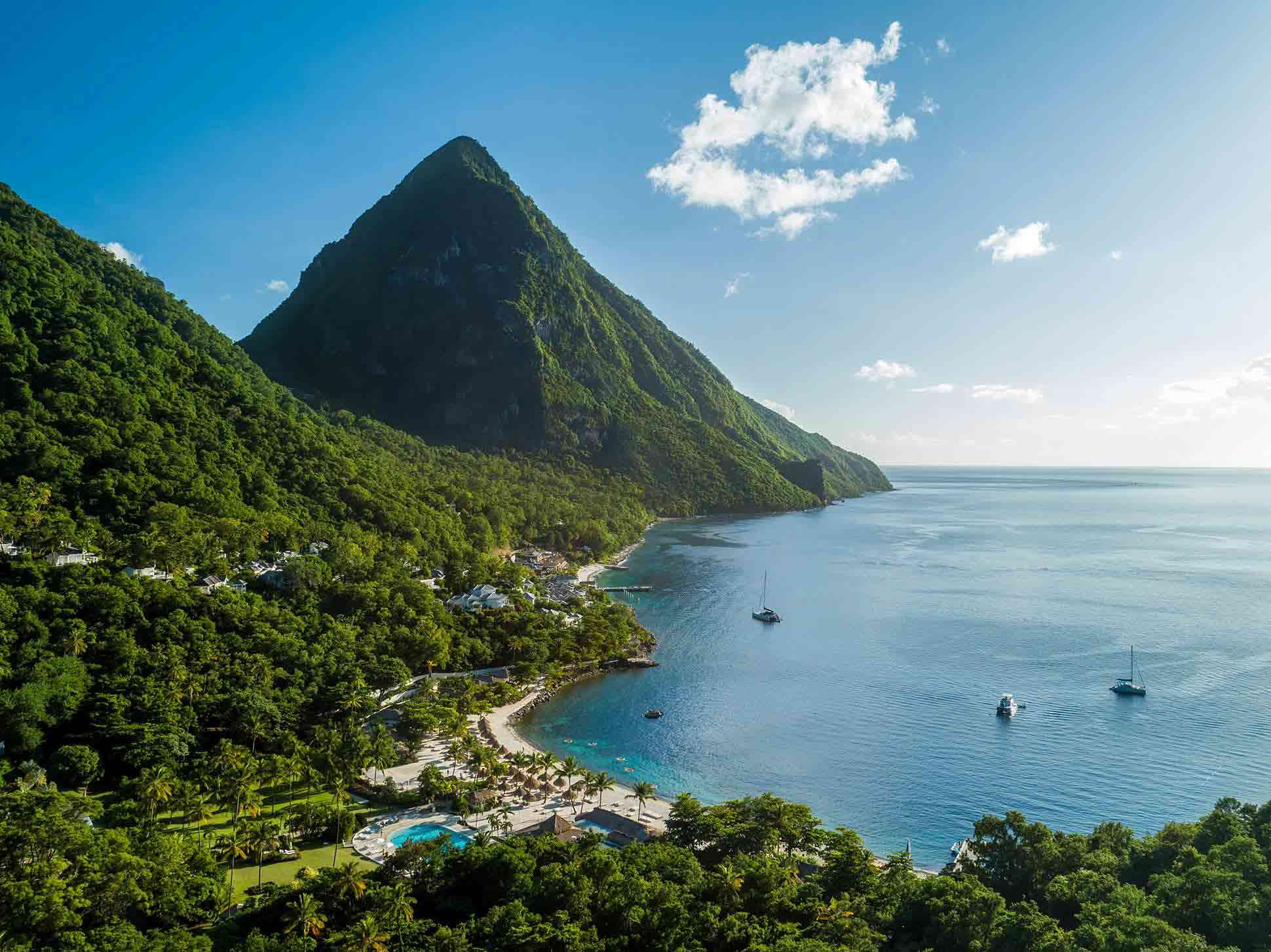 Pitons at Sugar Beach, a Viceroy Resort, St Lucia