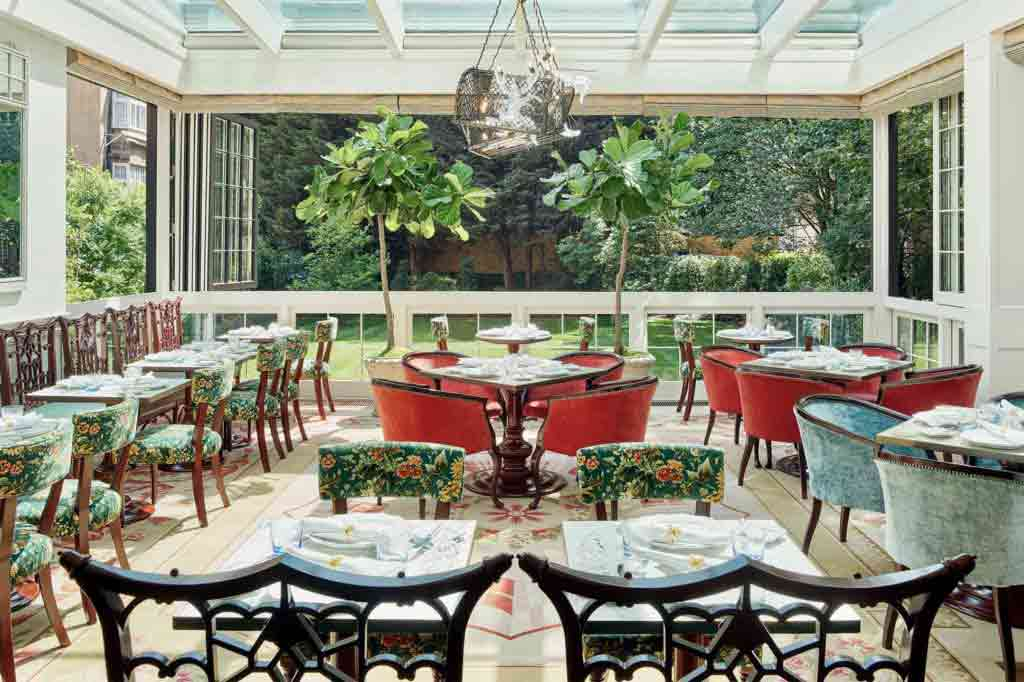 Siren Restaurant at The Goring, London, United Kingdom